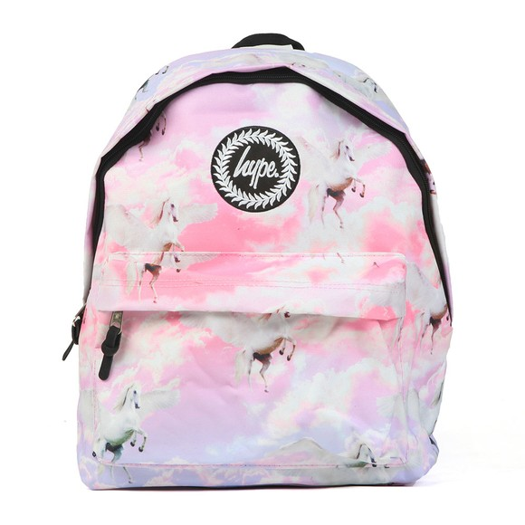 Hype Girls Pink Unicorn Skies Backpack