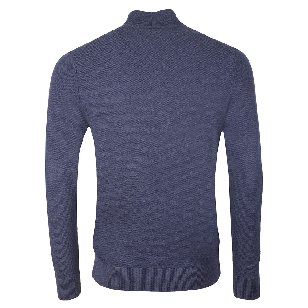 Moss Stitch 1/4 Zip Jumper main image