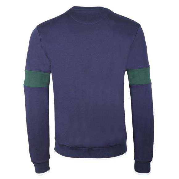 Lyle and Scott Mens Blue Tipped Crew Sweat main image