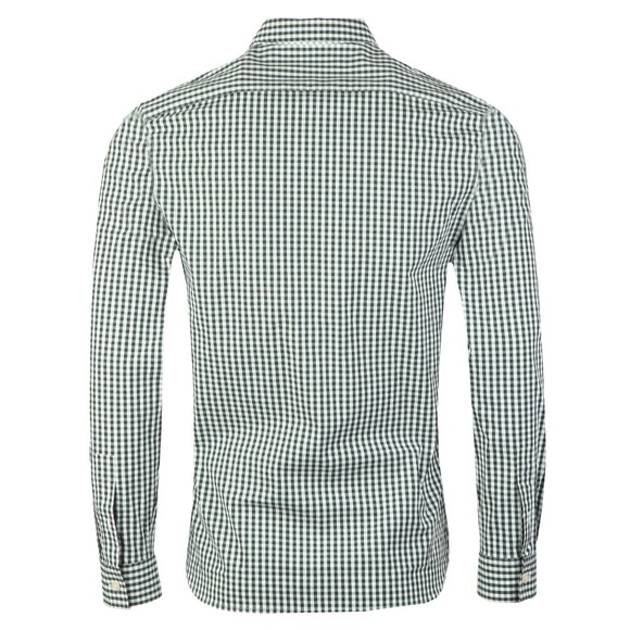 Lyle and Scott Mens Green Gingham Shirt main image