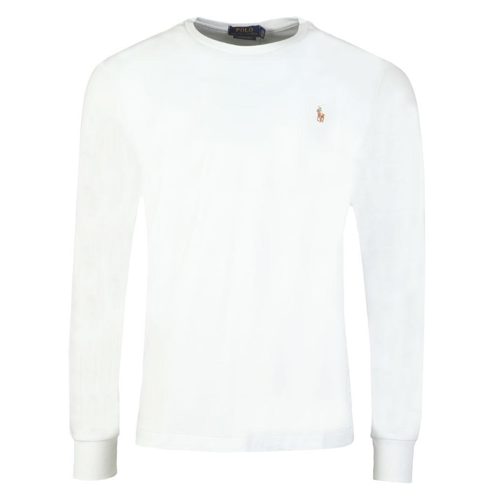 f13df26c Polo Ralph Lauren Custom Slim Fit Long Sleeve Pima Cotton T Shirt