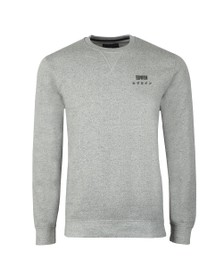 Edwin Mens Grey Base Crew Sweatshirt