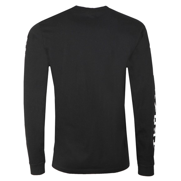 Edwin Mens Black Gang II Long Sleeve T Shirt main image