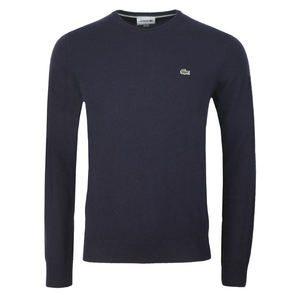 Lacoste Mens Blue AH0841 Wool Jumper