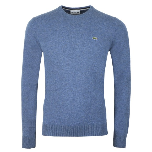 Lacoste Mens Blue AH0841 Wool Jumper main image