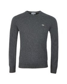 Lacoste Mens Grey AH0841 Wool Jumper