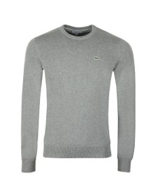 Lacoste Mens Grey AH3467 Jumper
