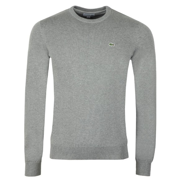 Lacoste Mens Grey AH3467 Jumper main image