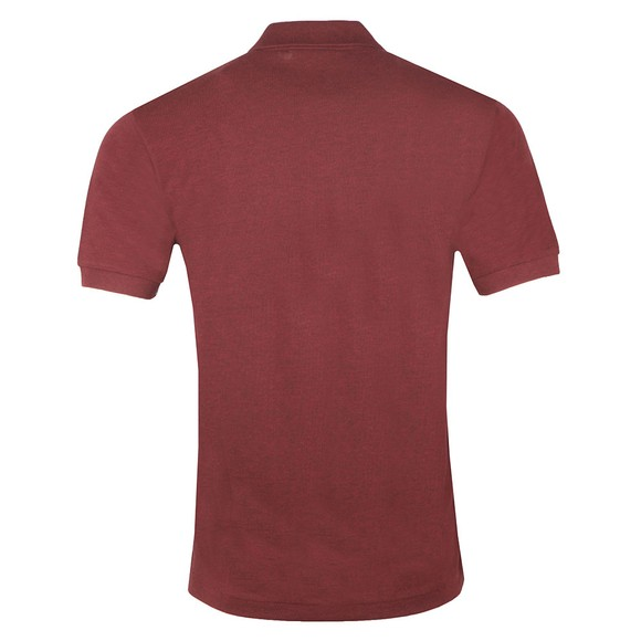 Lacoste Mens Red L1264 Plain Polo main image