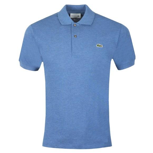 Lacoste Mens Blue L1264 Plain Polo