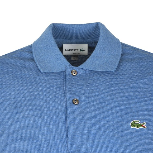 Lacoste Mens Blue L1264 Plain Polo main image