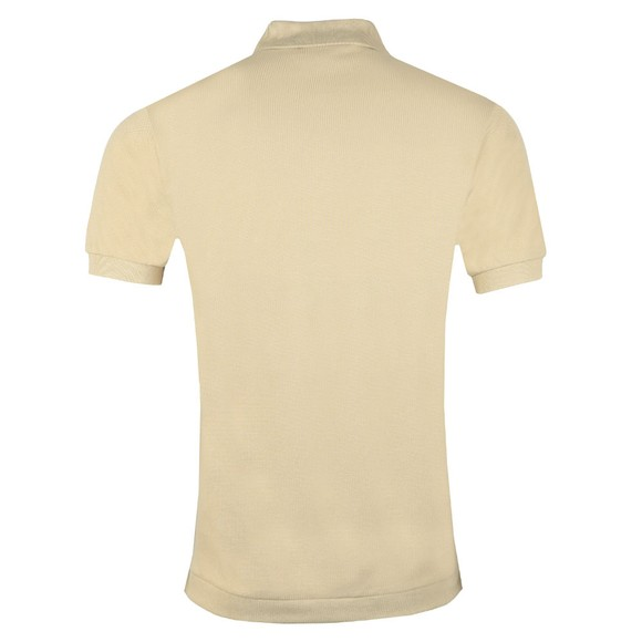 Lacoste Mens Beige L1212 Plain Polo Shirt main image