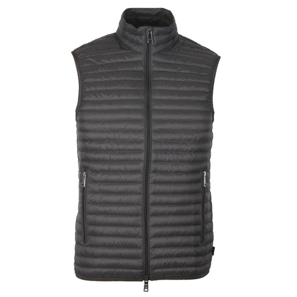 Emporio Armani Mens Grey Down Gilet main image