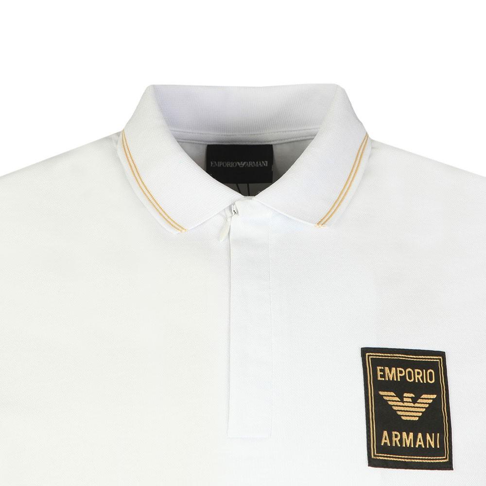 Gold Logo Polo Shirt main image