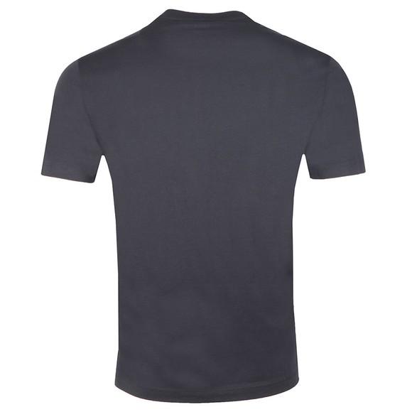 Emporio Armani Mens Blue 6G1TE7 Logo T Shirt main image