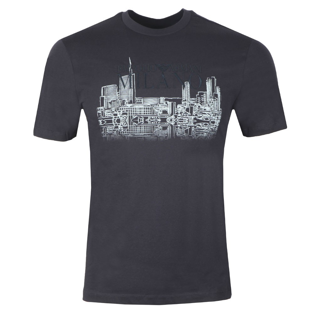 Milano Embroidered Logo T Shirt main image
