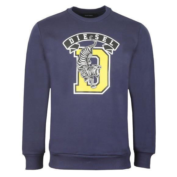 Diesel Mens Blue S-Gir B1 Sweatshirt main image