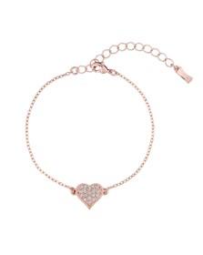 Ted Baker Womens Pink Hisna Hidden Heart Bracelet