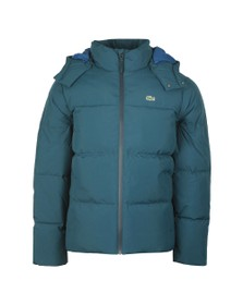 Lacoste Mens Blue Bh9358 Jacket