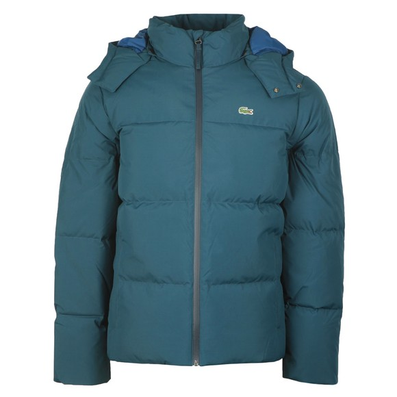 Lacoste Mens Blue Bh9358 Jacket main image