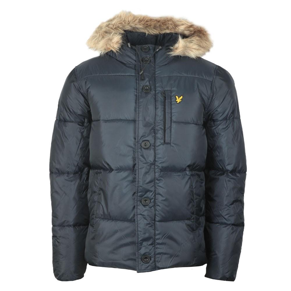 Wadded Hooded Jacket main image