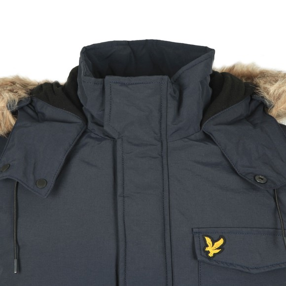 Lyle and Scott Mens Blue Winter Microfleece Jacket main image