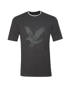 Lyle and Scott Mens Black Pique Tee