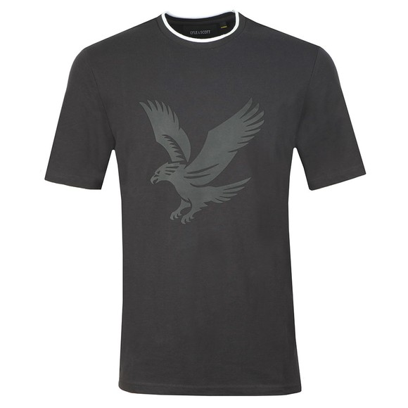Lyle and Scott Mens Black Pique Tee main image