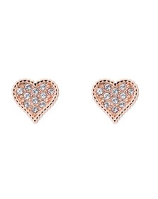Ted Baker Womens Pink Hanila Hidden Heart Stud Earring