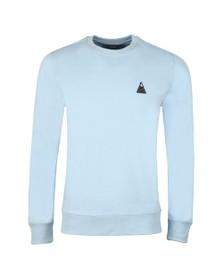 J.Lindeberg Mens Blue Throw Ring Crew Neck Sweatshirt
