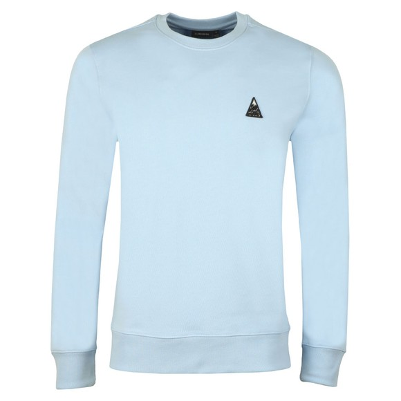 J.Lindeberg Mens Blue Throw Ring Crew Neck Sweatshirt main image