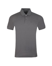 J.Lindeberg Mens Grey Troy Clean Pique Polo Shirt