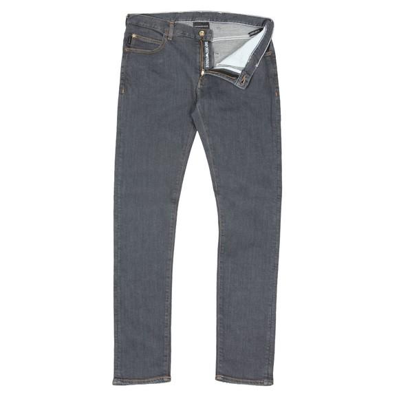 Emporio Armani Mens Grey J10 Extra Slim Jean main image
