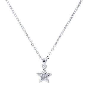 Saigi Pave Shooting Star Pendant