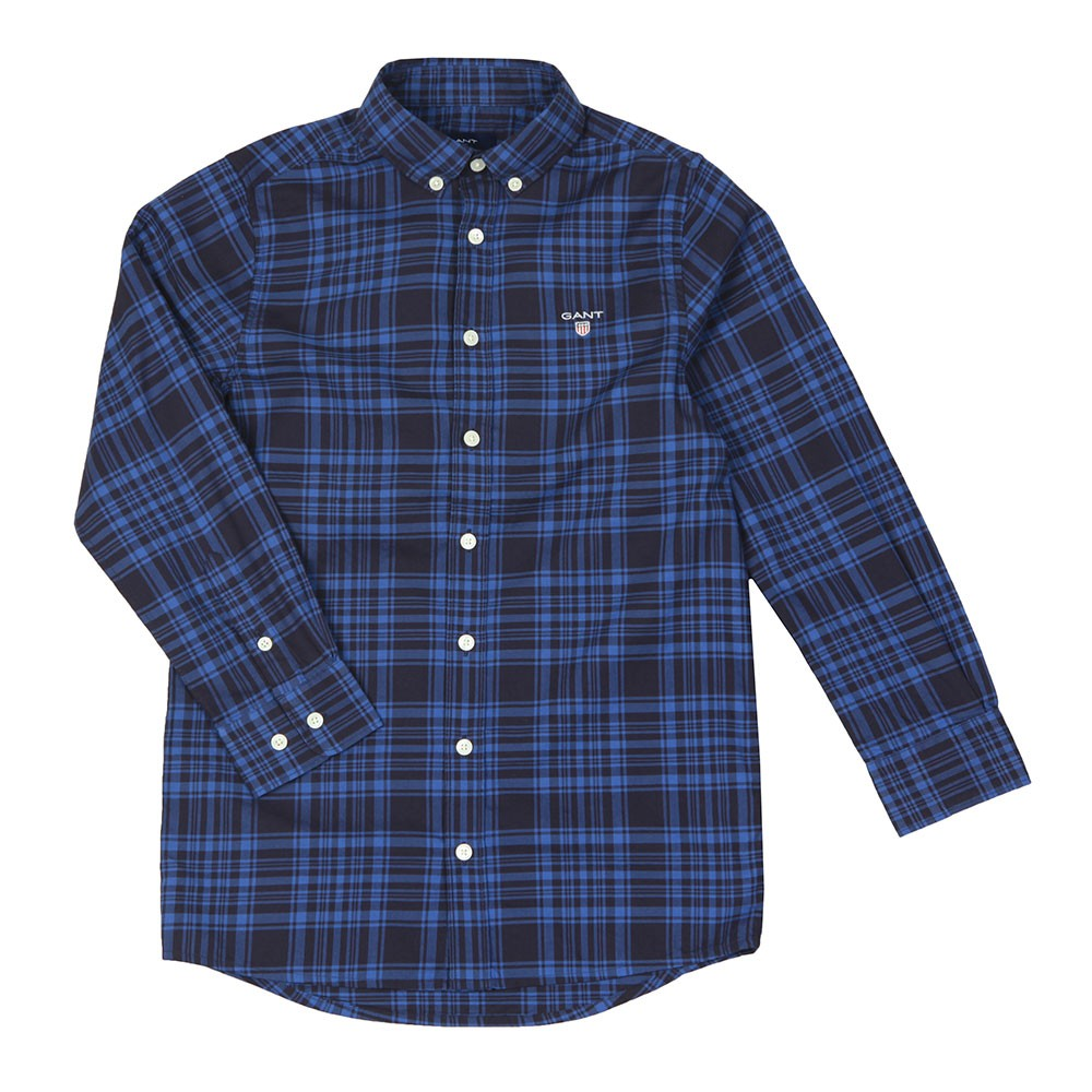 Boys Twill Check Shirt main image