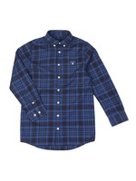 Boys Twill Check Shirt