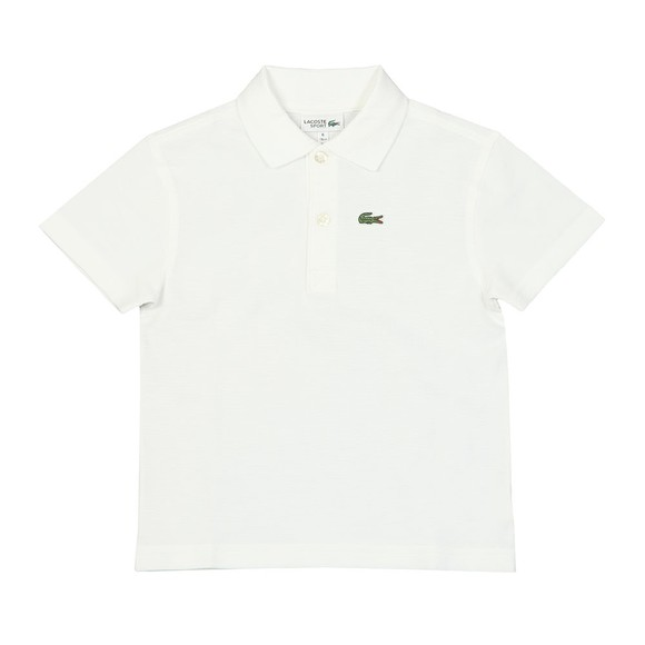 Lacoste Sport Boys White Boys L1830 Polo Shirt main image