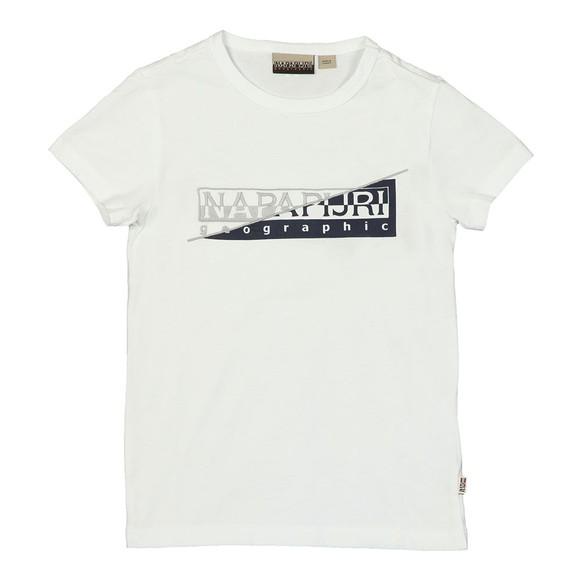 Napapijri Boys White Boys Saky T Shirt main image