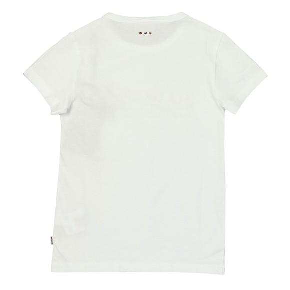 Napapijri Boys White Boys Saky T Shirt