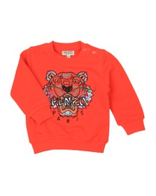 Kenzo Baby Boys Orange Japanese Dragon Tiger Sweatshirt