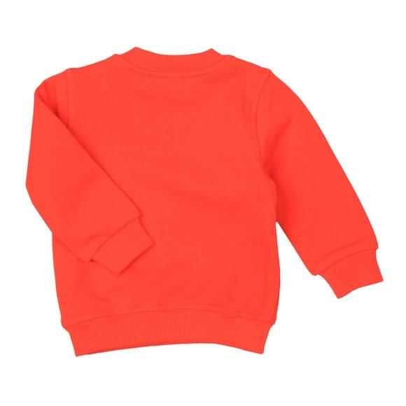 Kenzo Baby Boys Orange Japanese Dragon Tiger Sweatshirt main image