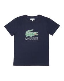 Lacoste Boys Blue Boys TJ7624 Logo T Shirt