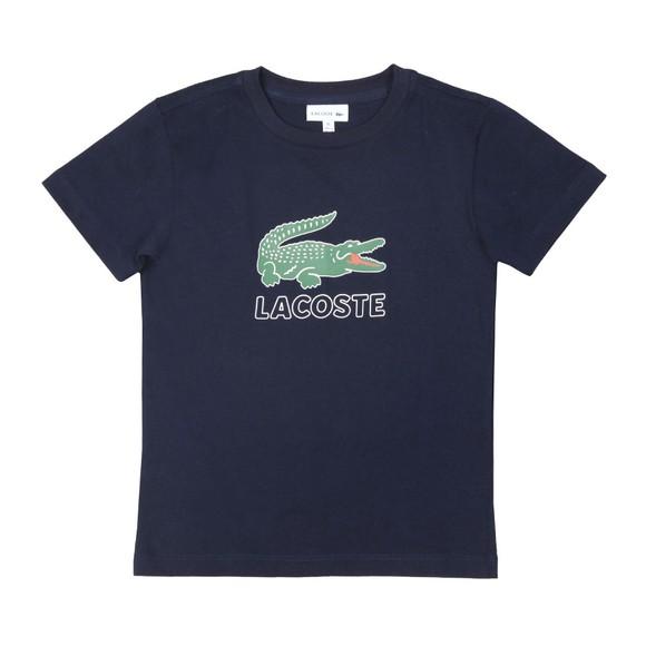 Lacoste Boys Blue Boys TJ7624 Logo T Shirt main image