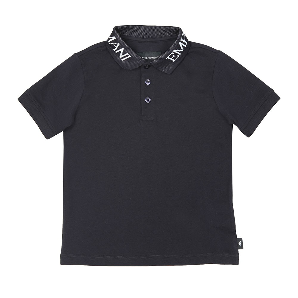 Logo Collar Polo Shirt main image