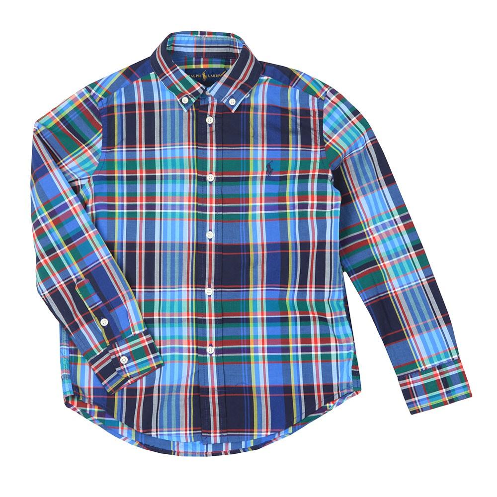 Check Stretch Poplin Shirt main image