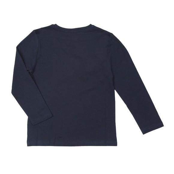 BOSS Boys Blue J25E45 Long Sleeve T Shirt main image