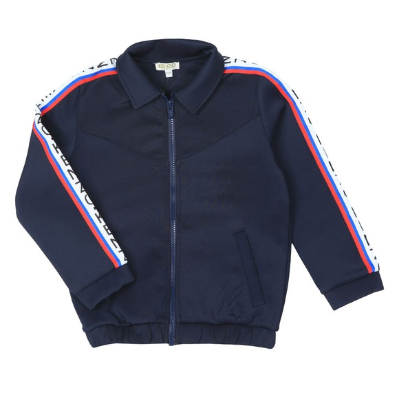 Kenzo Kids Boys Blue Super Kenzo Garisson Tape Track Top main image
