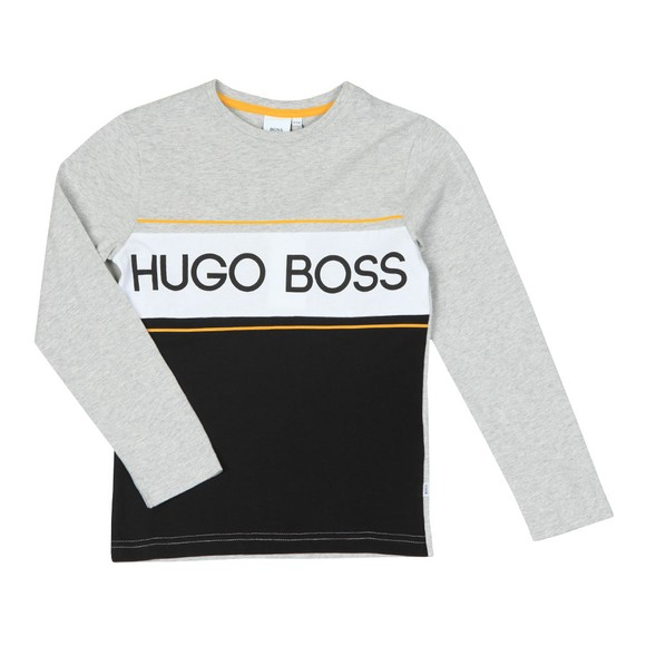 BOSS Boys Grey Boys J25E43 T Shirt main image