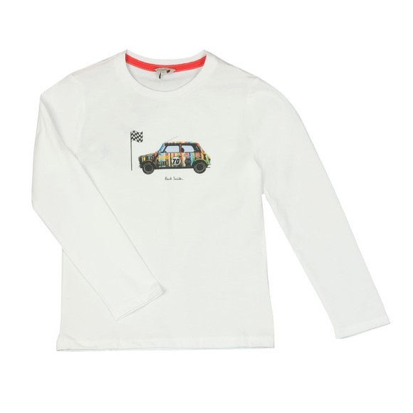 Paul Smith Junior Boys White Vidone T Shirt