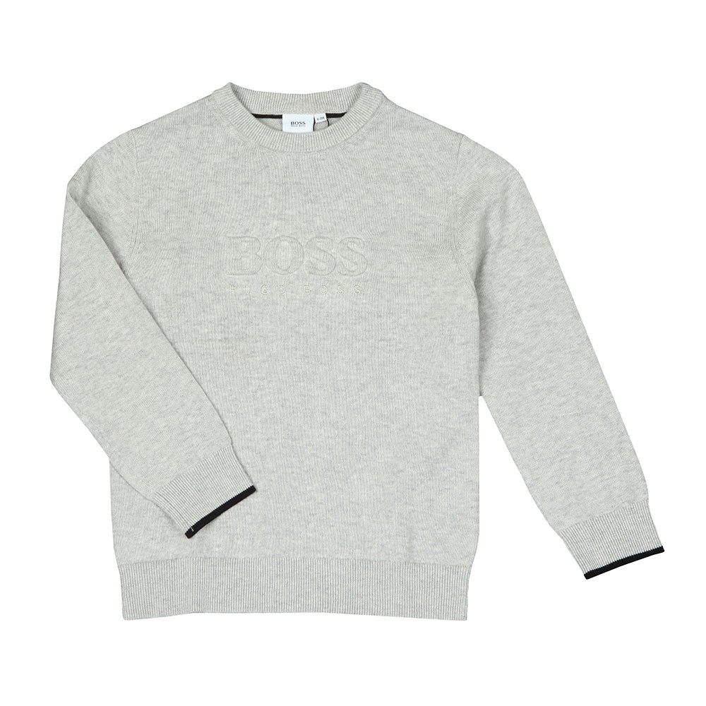 Boys Embossed Logo Jumper main image